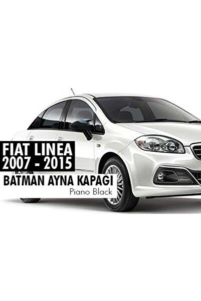 autovision Fiat Linea Batman Yarasa Ayna Kapağı Piano Black