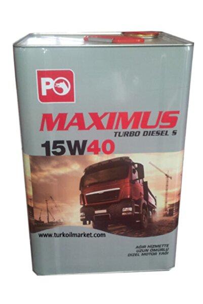 Marka P.ofisi Maxımus 15w40 Madeni Yağ 16 Kg.