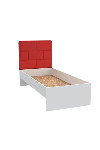 Kenzlife Larose Başlık Karyola Set Süzen 090 Krm 190*090 Karyola Byz Yatak Baza Başlığı