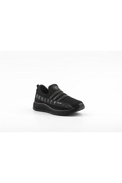 Papion Erkek Çocuk Siyah Spor Ayakkabı W660