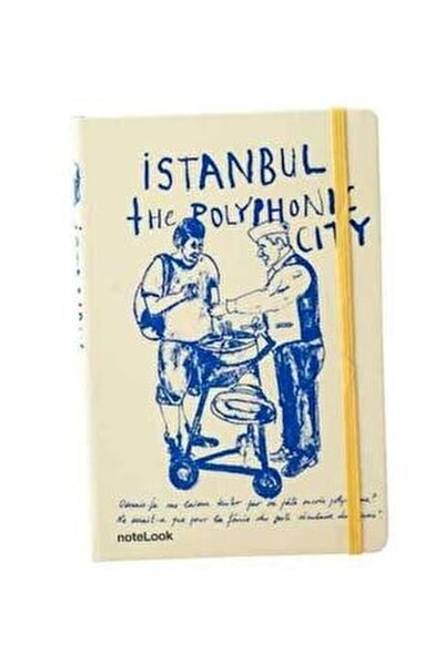 Istanbul Macun A5 Çizgili Defter 3240