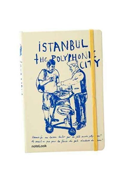 Scrikss Istanbul Macun A5 Çizgili Defter 3240