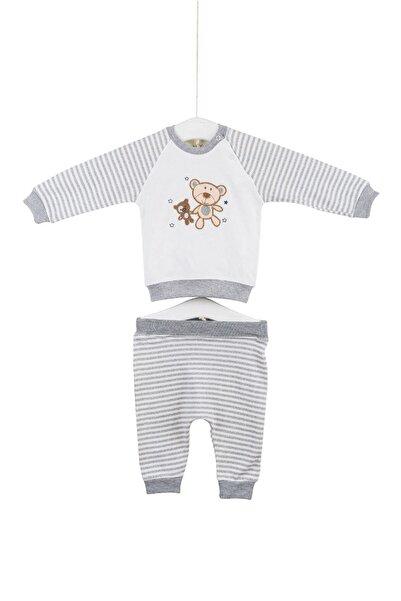 Aziz Bebe 2012 Little Bear Erkek Bebek Pamuklu 2'li Takım