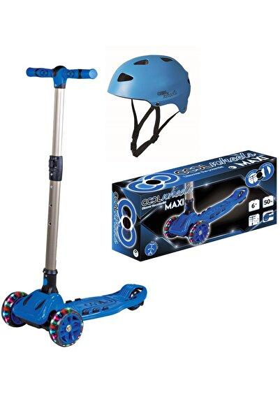 Fırsat Oyuncak Unisex Mavi Cool Wheels Scooter