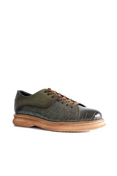 Beta Erkek Yeşil  Deri Ayakkabı
