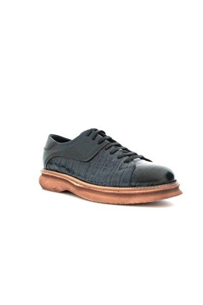 Beta Erkek Lacivert Deri Ayakkabı