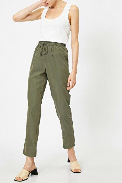 Koton Kadın Haki Jeans 0YAK42369UW