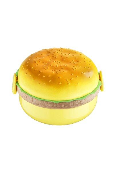 Bee Home Yuvarlak Hamburger Beslenme Kabı