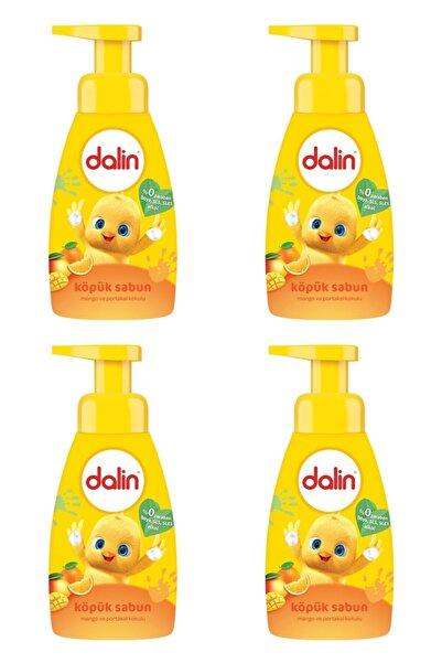 Dalin Köpük Sabun Mango ve Portakal Kokulu 200 ml 4 Adet