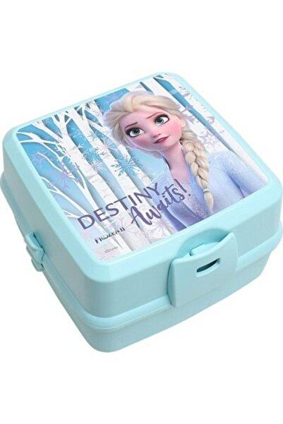 Disney Frozen Kız Çocuk Mavi Elsa Yemek Seti