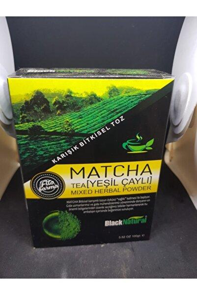Lokman Black Natural Matcha Çayı 100 Gr