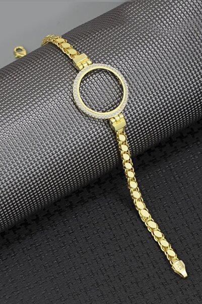 Else Silver 925 Ayar Gümüş Çeyreklik Pullu Zincir Bileklik