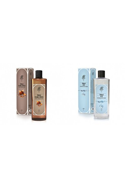 Rebul Dark Spice + Ice 270 Ml Cam Şişe Set