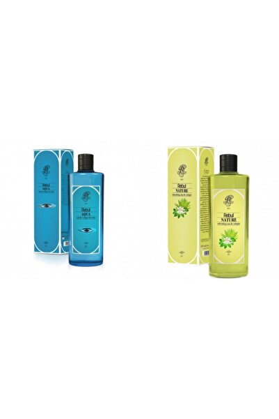 Rebul Aqua + Nature 270 Ml Cam Şişe Set