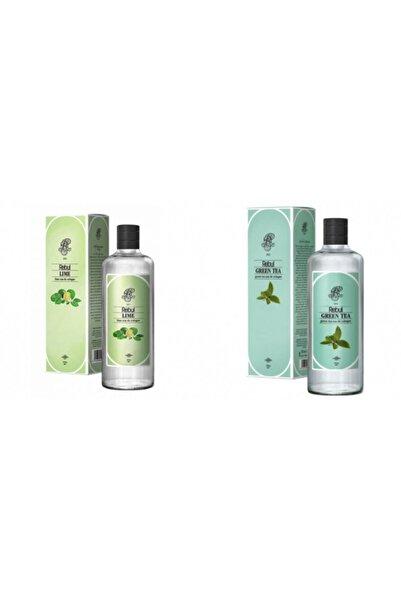 Rebul Lime + Yeşil Çay 270 Ml Cam Şişe Set