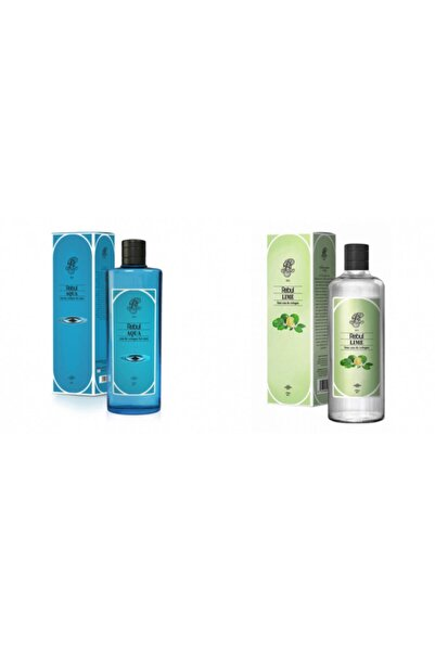 Rebul Aqua + Lime 270 Ml Cam Şişe Set