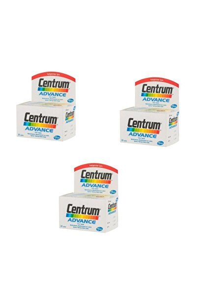 Centrum Advance Multivitamin 3 X 30 Tablet