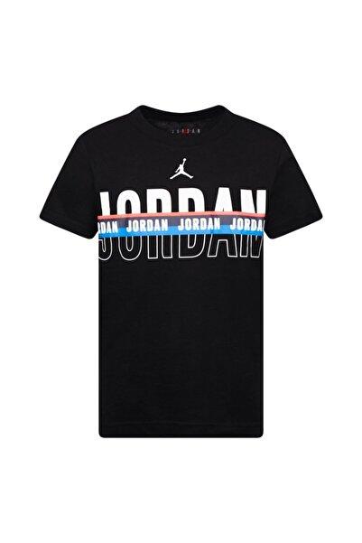 Nike Çocuk Siyah Jordan Splıt Decısıon Basket Tişört