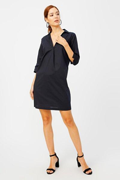Fabrika Kadın Lacivert Elbise 504393138 Boyner