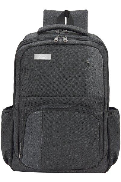 DEEP BLUE Gri  Koton 15.6'' Notebook Ve Evrak Sırt Çantası Dp-550