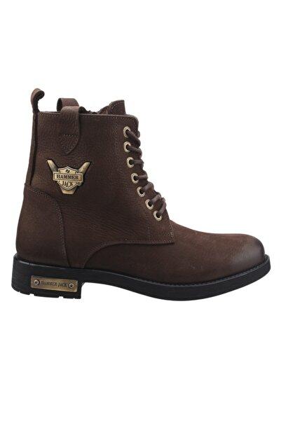 Hammer Jack Erkek Kahverengi Günlük Deri Bot Ayakkabı