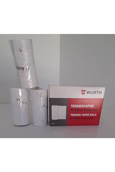 Würth 0850100300 Dijital Takoğraf Yazıcı Kağıdı 8m 3-adet