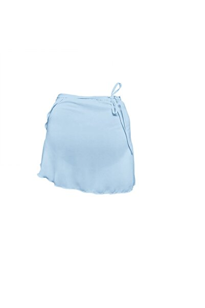 Astra Kadın Buz Mavisi Any Anvelop Bale Eteği