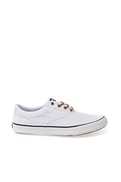 Sperry Top-Sider Erkek Spor Ayakkabı Beyaz - Strıper Iı Cvo Oxford Shırt  - STS19251