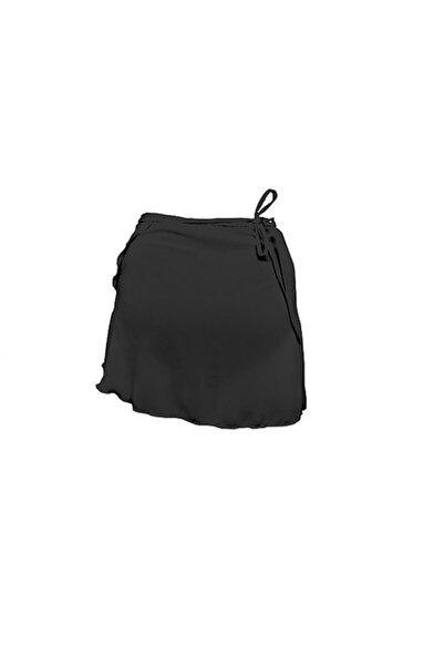 Astra Kadın Siyah Anvelop Bale Eteği
