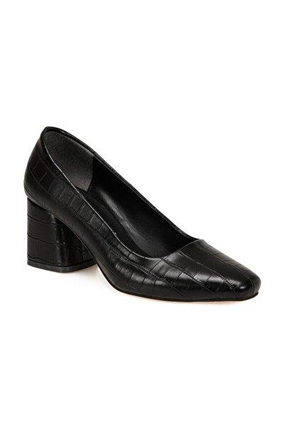 Butigo Lily Siyah Kadın Topuklu Ayakkabı