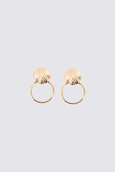 Marks & Spencer Kadın Sarı Halka Küpe T06001018F