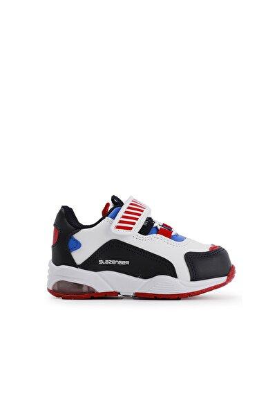 Slazenger Rody Spor Çocuk Ayakkabı Beyaz / Kırmızı