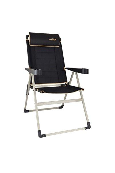 NURGAZ Siyah Campout Katlanır Lüx Sandalye