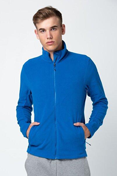 adidas Erkek Mavi Uzun Kollu Sweatshirt