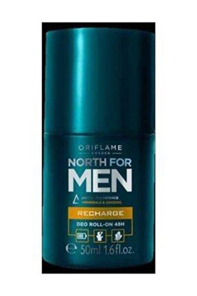 Oriflame North For Men Recharge 48 Saat Etkili Roll-on Deodorant