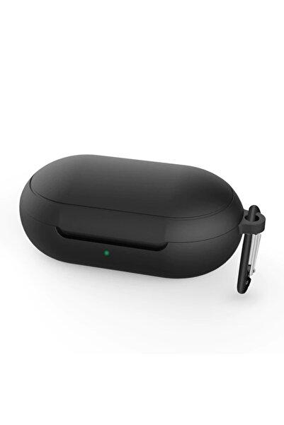 Microsonic Siyah Samsung Galaxy Buds Mat Silikon Kılıf