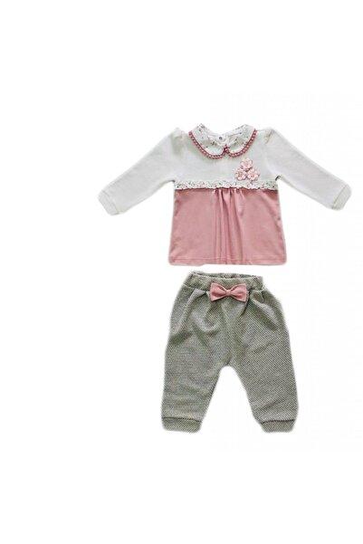 Mymio Çiçekli Kız Bebe Takım