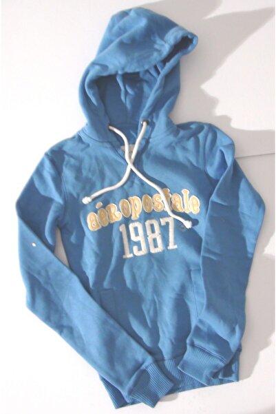 AEROPOSTALE Kadın Açık Mavi Sweatshirt