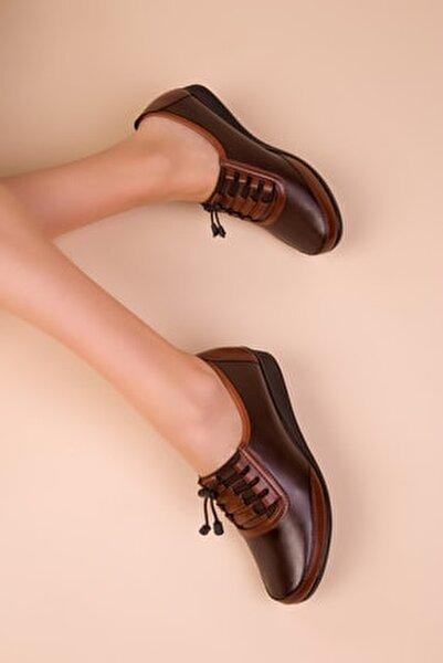 Kahve Kadın Casual Ayakkabı 15490