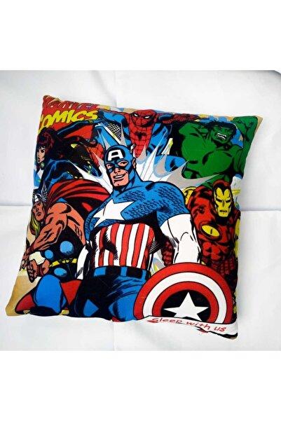 Köstebek Marvel Comics Yastık