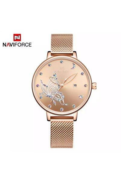 Naviforce Nf5011 Analog Çelik Kordon Kadın Kol Saati