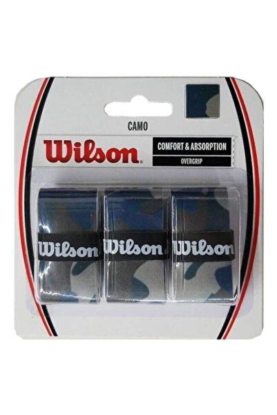 Wilson Mavi Camo Comfort Overgrip Raket Gribi Wrz470840