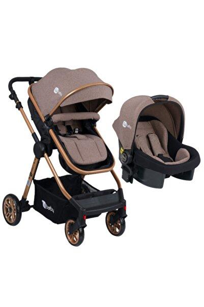 4 Baby Ab-492 Comfort Exclusıve Gold Travel Sistem Bebek Arabası