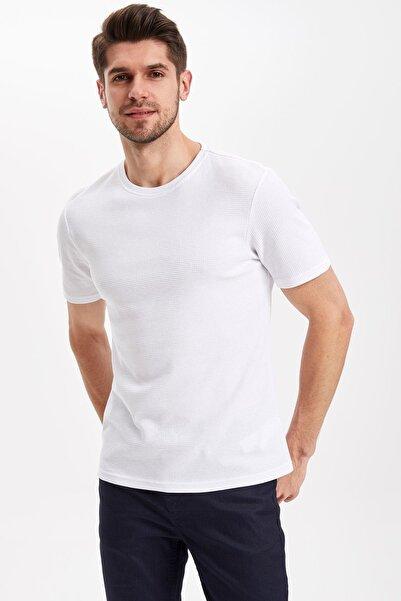 Erkek Regular Fit T-Shirt K2061AZ.19SP.WT34