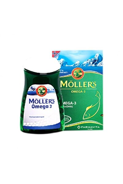 Mollers Omega 3 60 Kapsül Balık Yağı