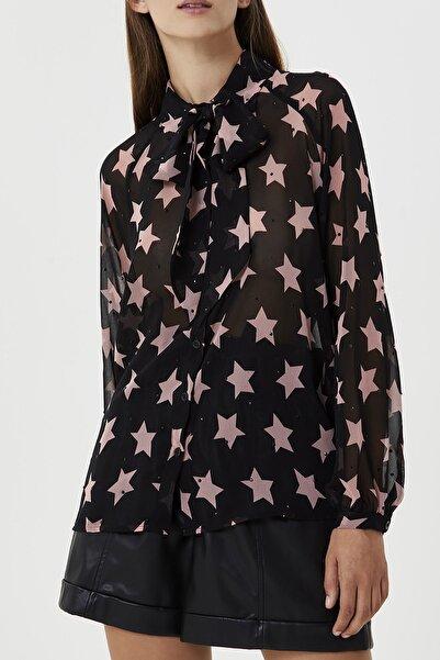 Liu Jo Kadın Pembe Yıldızlı Bluz
