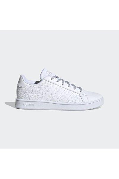 adidas Kadın Beyaz Sneaker Grand Court K Fw4575