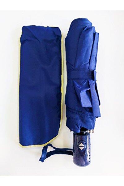 Umbrella Şemsiye Lacivert Tam Otomatik Rüzgarda Kırılmayan