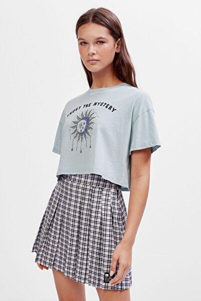 Bershka Baskılı T-shirt