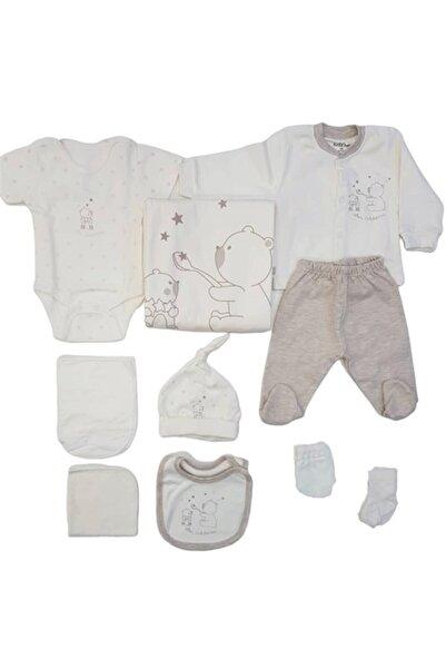 Aziz Bebe Erkek Bebek 10 Parça Hastane Çıkışı